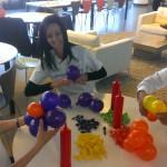 Inflatable teamwork
