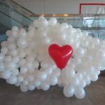 SuccessFactors logo with balloons